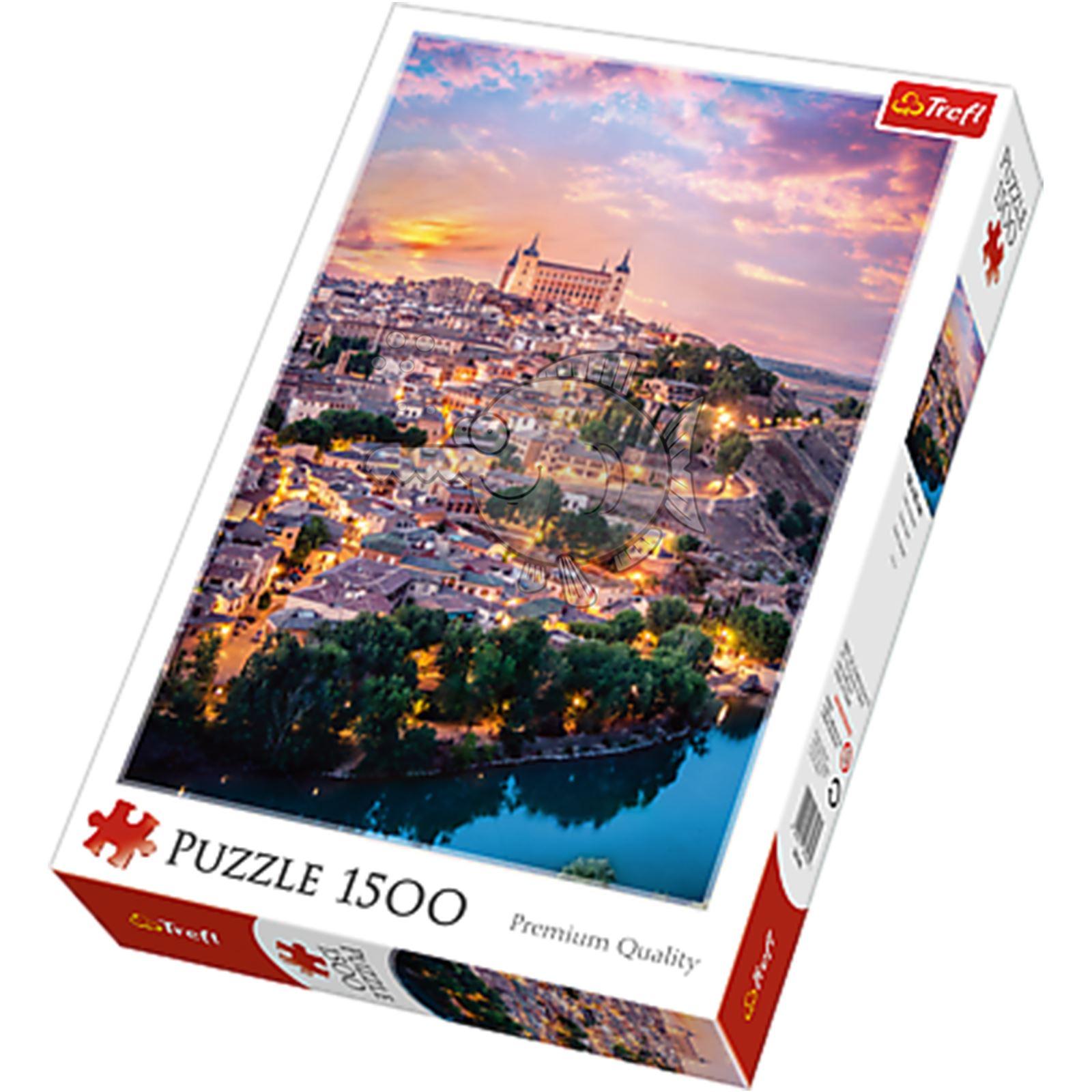 Trefl-300-500-1000-1500-2000-3000-4000-6000-Piece-Jigsaw-Puzzle-Landscapes-City thumbnail 423