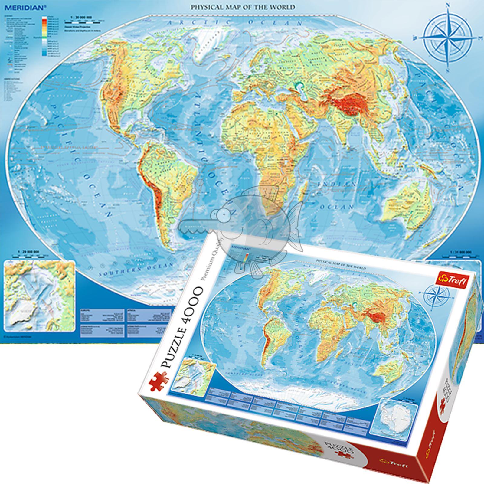 Trefl-300-500-1000-1500-2000-3000-4000-6000-Piece-Jigsaw-Puzzle-Paysages-Ville miniature 155