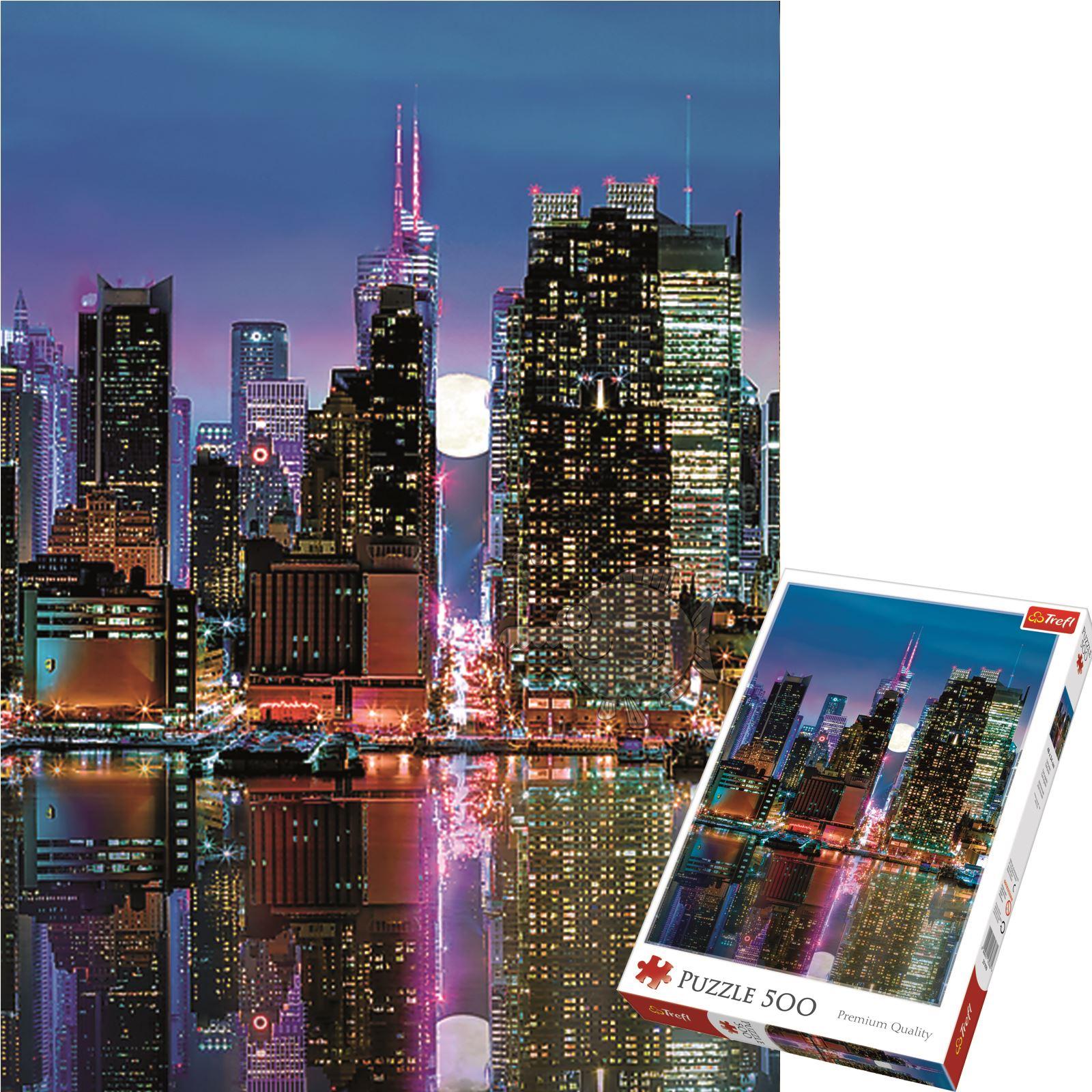 Trefl-300-500-1000-1500-2000-3000-4000-6000-Piece-Jigsaw-Puzzle-Landscapes-City thumbnail 124