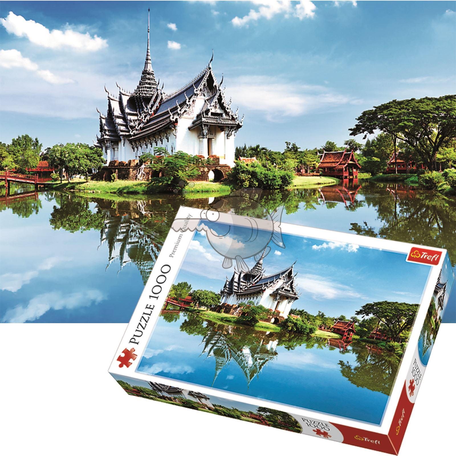 Trefl-300-500-1000-1500-2000-3000-4000-6000-Piece-Jigsaw-Puzzle-Landscapes-City thumbnail 312