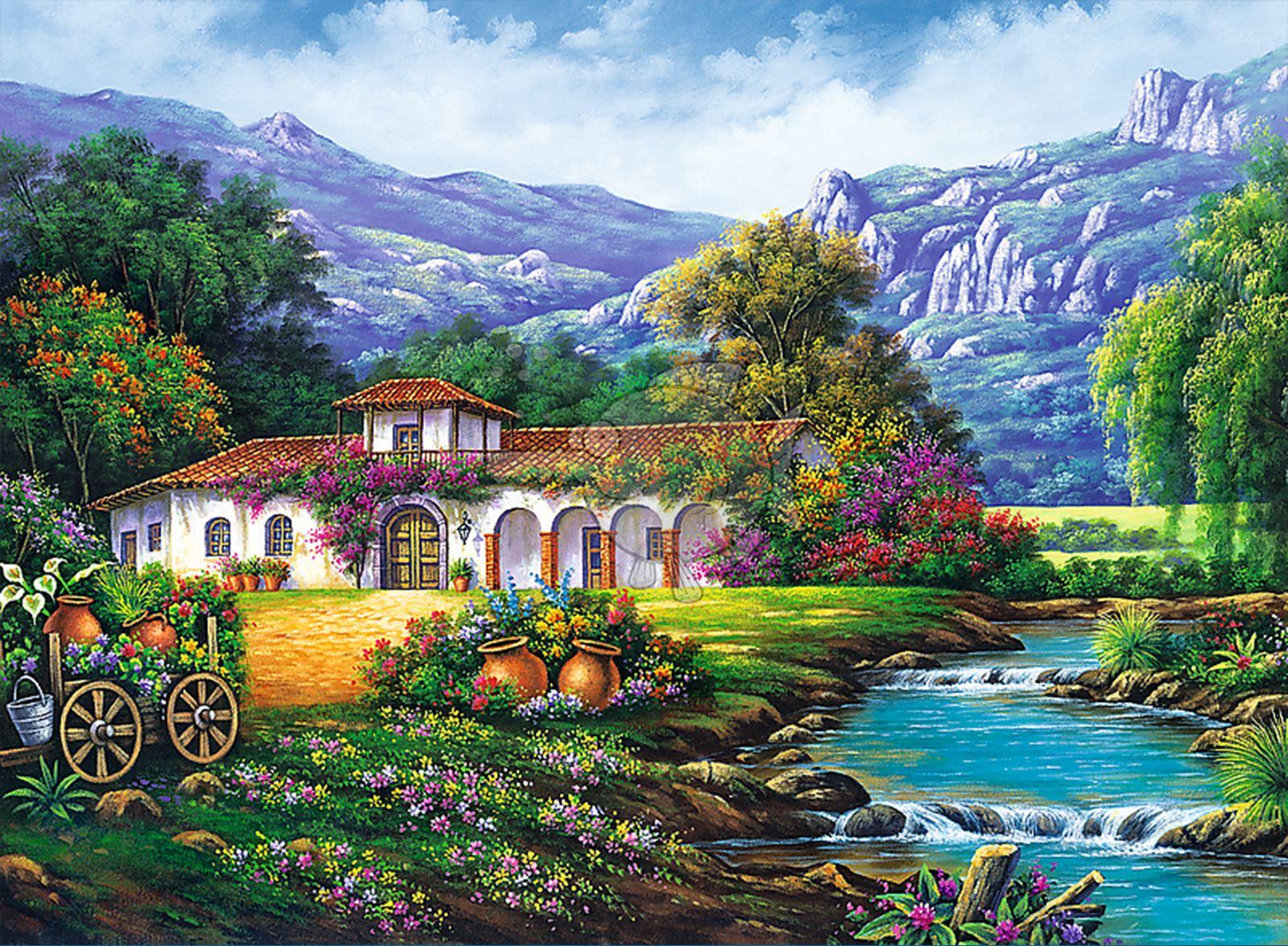Trefl-300-500-1000-1500-2000-3000-4000-6000-Piece-Jigsaw-Puzzle-Landscapes-City thumbnail 155