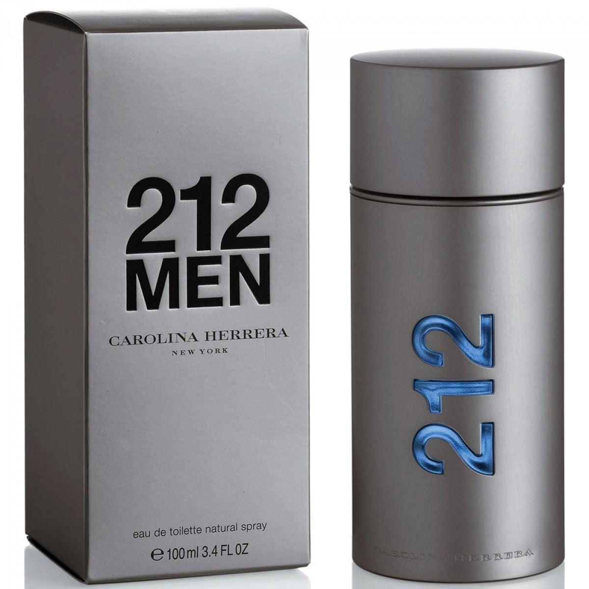Detalles de Carolina Herrera 212 Men Nyc 100 ml Edt para hombres ver título original