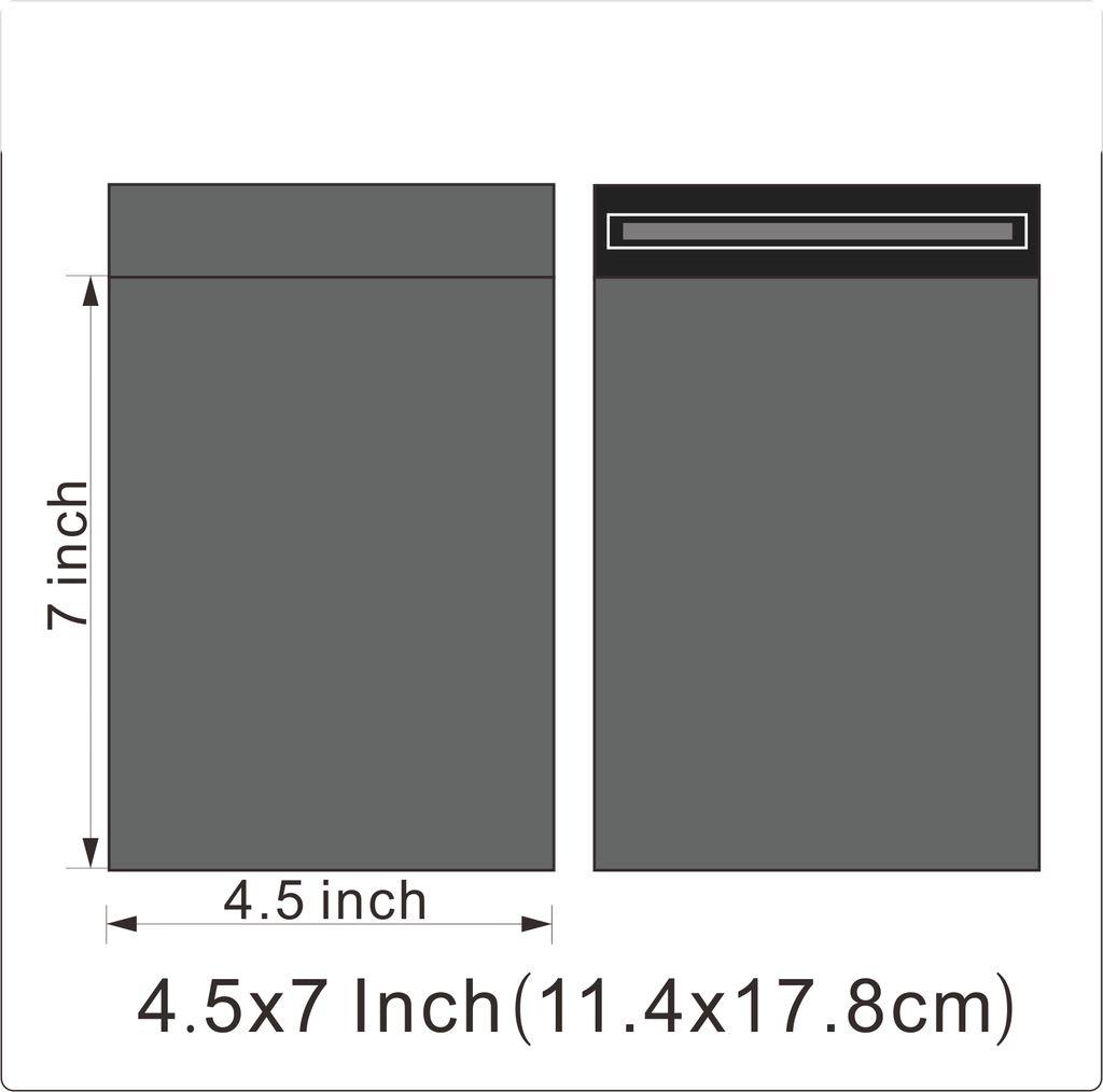 """20 sacs 12/"""" x 16/"""" solide poly envoi affranchissement postal qualité self seal gris"""