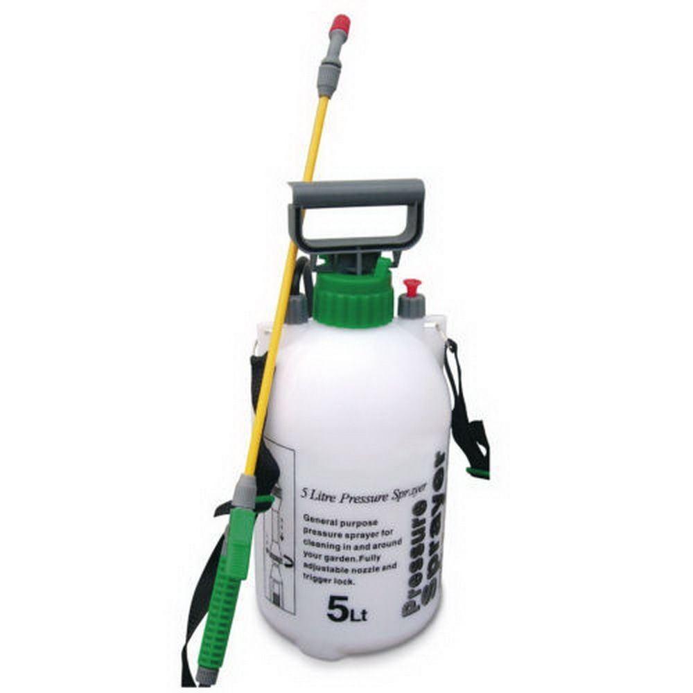 5 litre garden sprayer weed killer 5l chemical knapsack. Black Bedroom Furniture Sets. Home Design Ideas