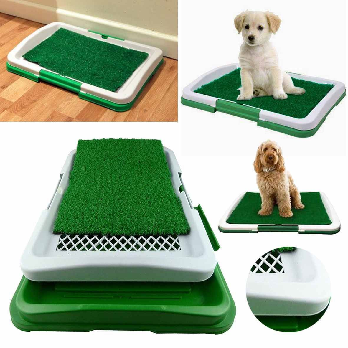 Pet Dog Toilet Mat Indoor Restroom Training Grass Potty