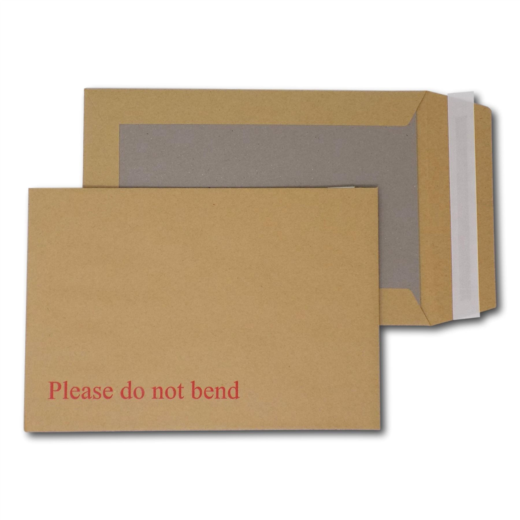 Board Backed Envelopes Pack of 100 Please do not bend C5 // A5