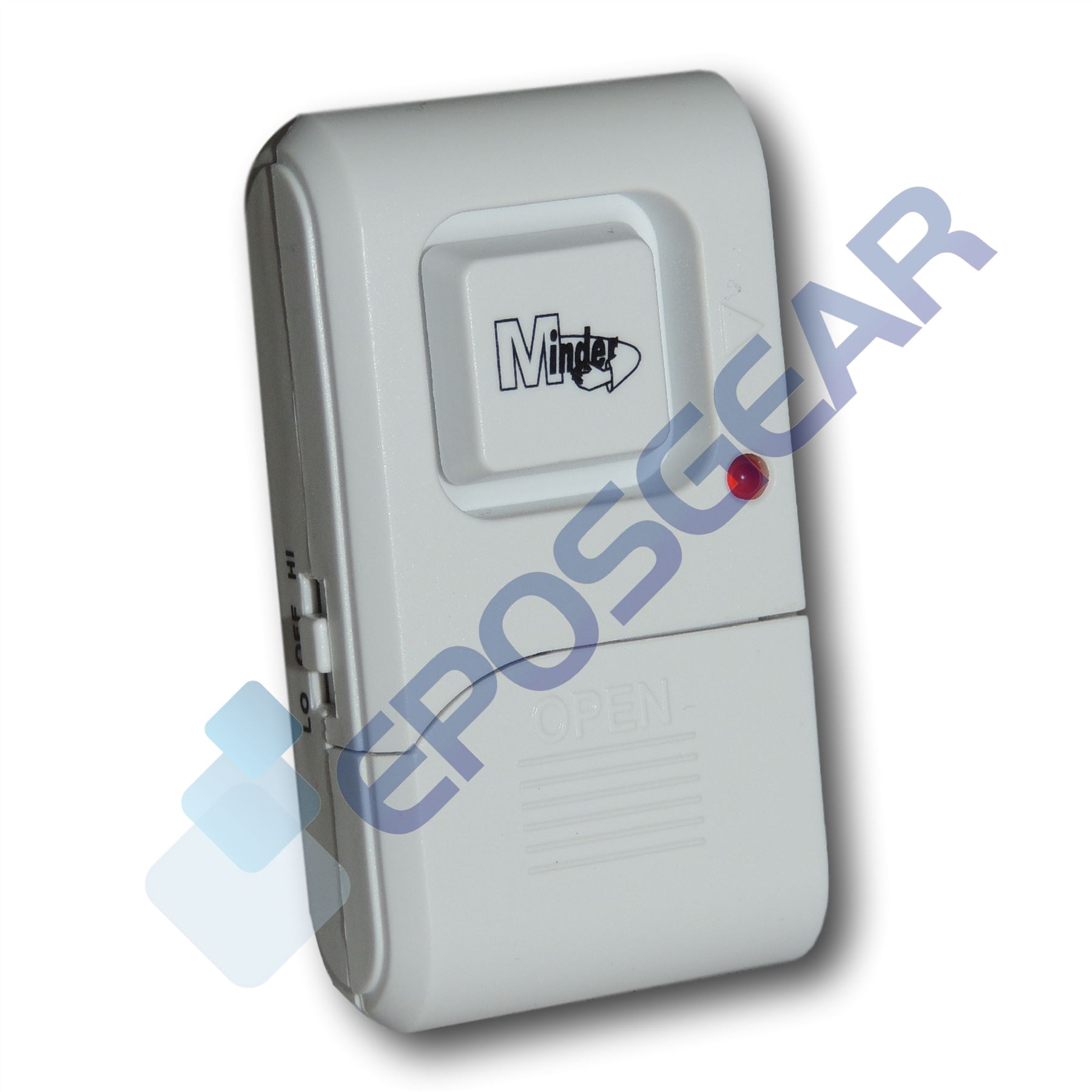 Minder Mini Window Glass Vibration Security Burglar Alarm Shed Image Is Loading
