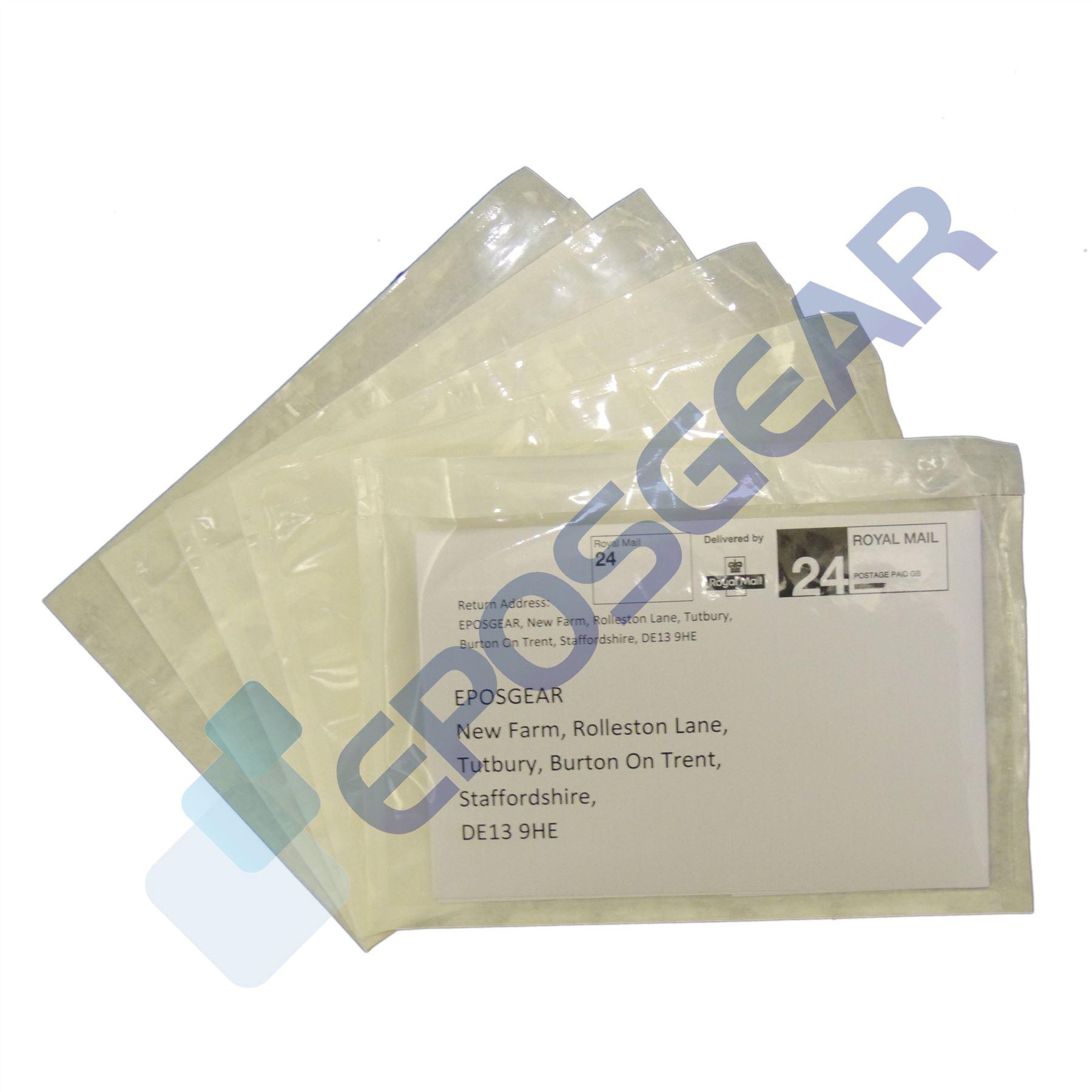 1000 A6//C6 158mm x 110mm Plain Documents Enclosed Sticky Wallets Envelopes