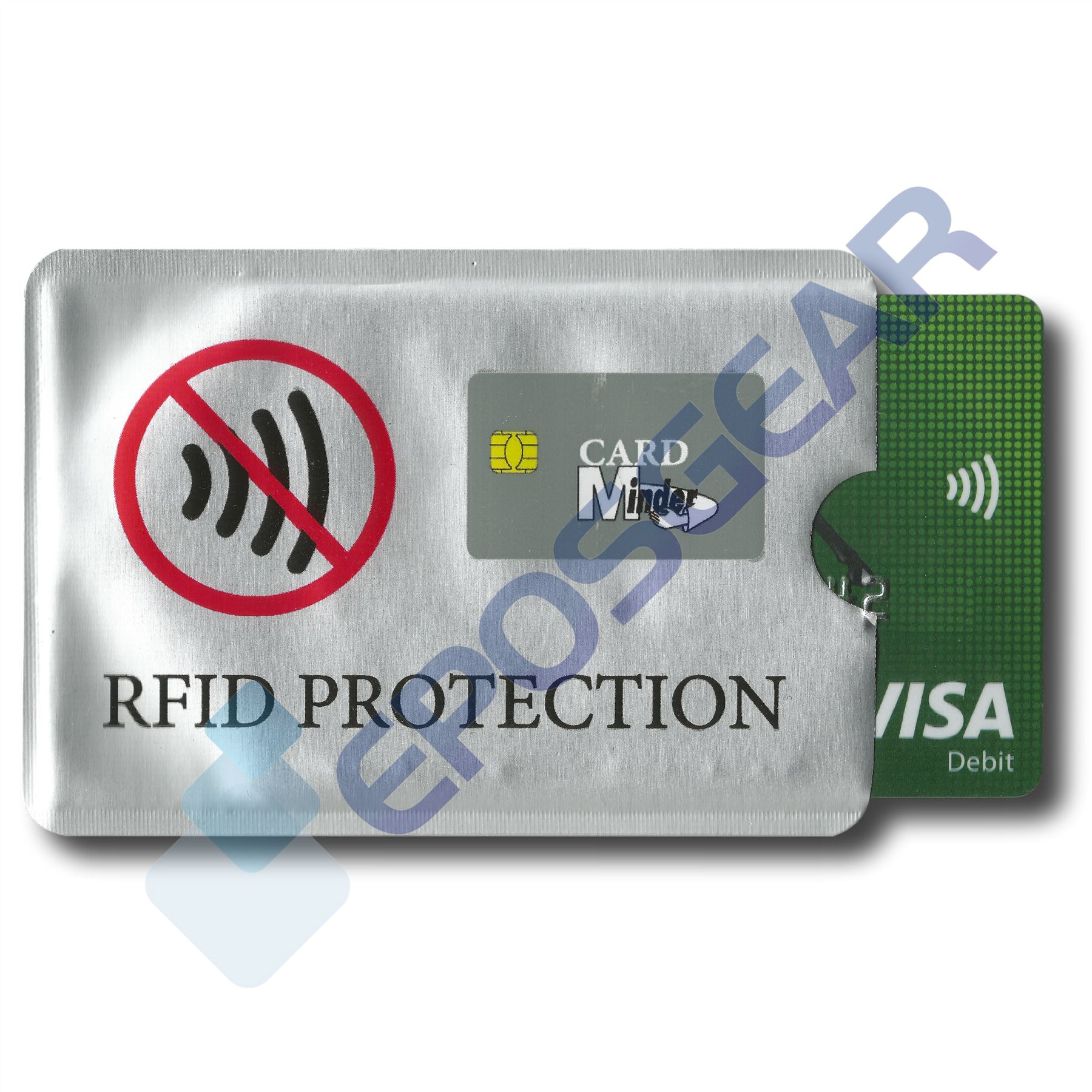 3x Sleeves Card RFID Blocking Contactless Debit Credit Card Protector Wallets