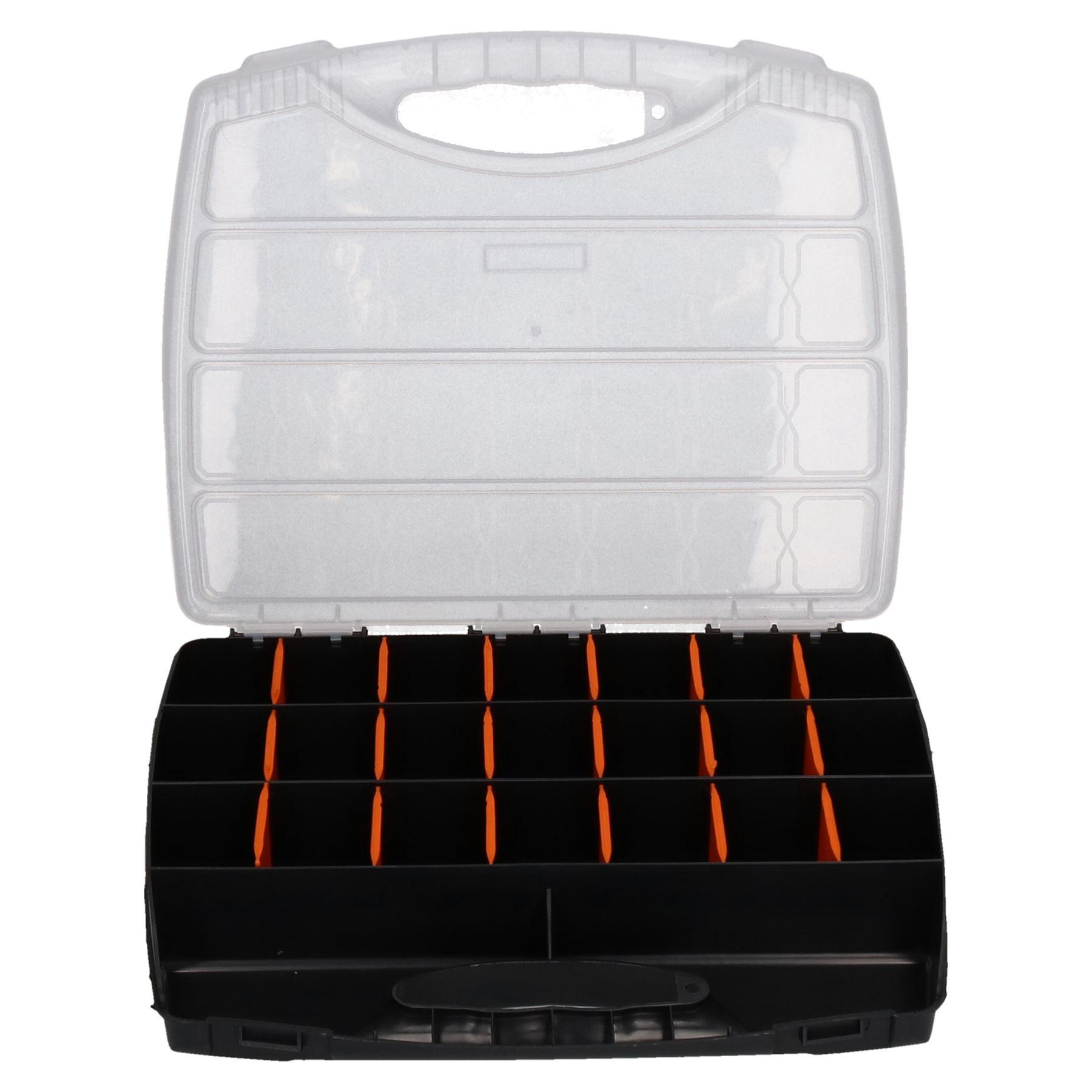 Plastique-Compartiment-outil-organisateur-diviseur-Small-Medium-Large-Tool-Box miniature 4