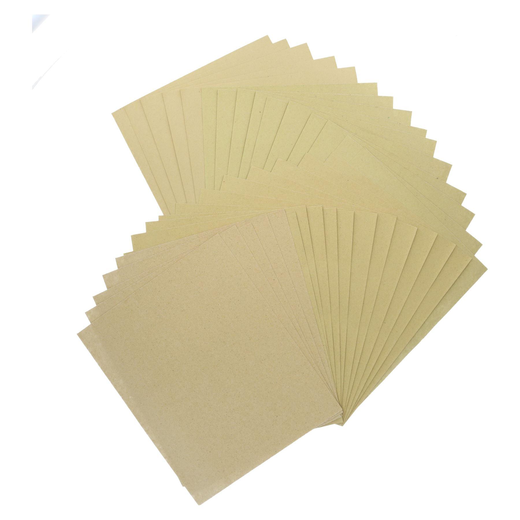 10 pc-sortierten Schleifpapier f/ür Metall Holz Kunststoff feine K/örnung 240