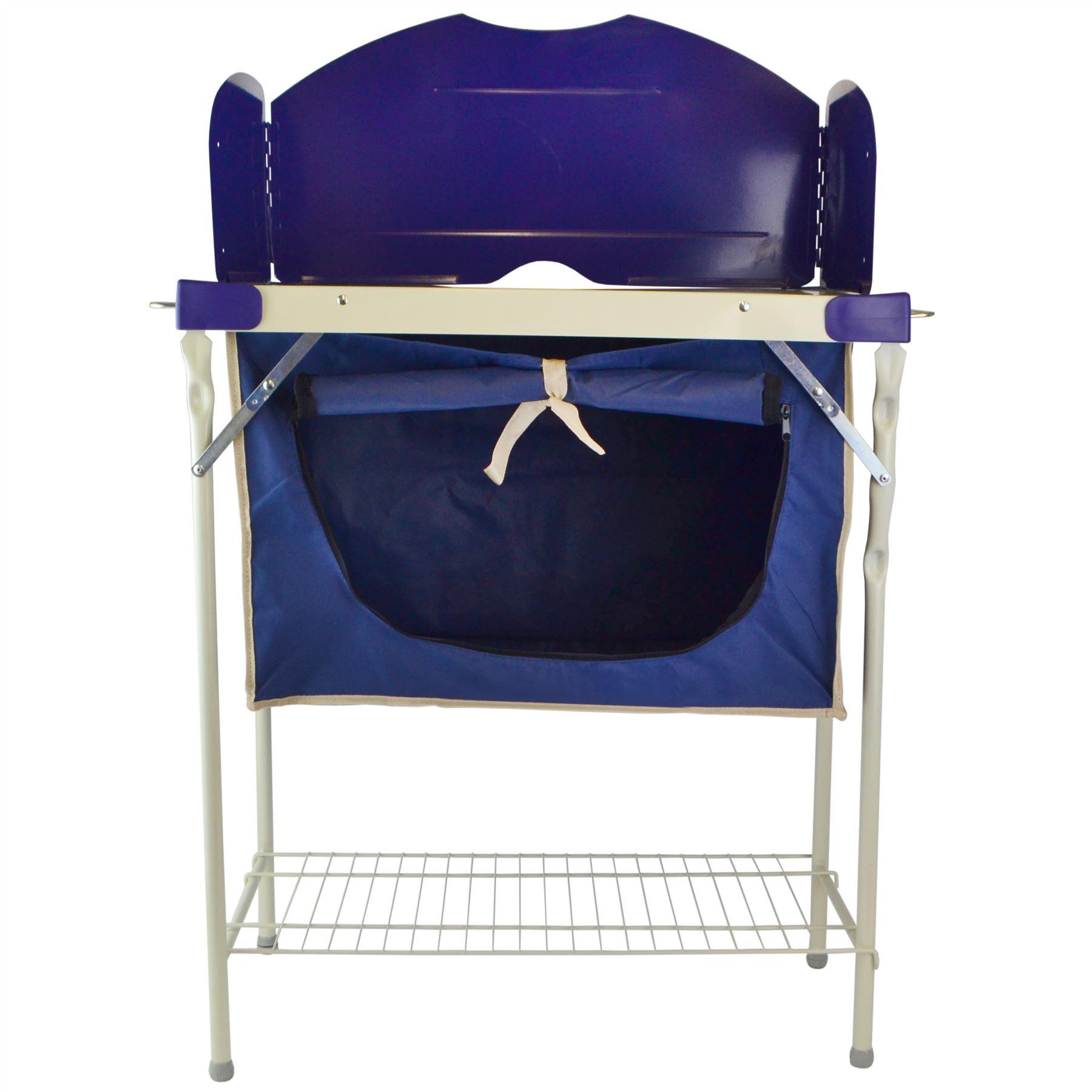 Camping Und Küche Store Sack Rangement Multifonctions Prep Salon Steel Frame Cm