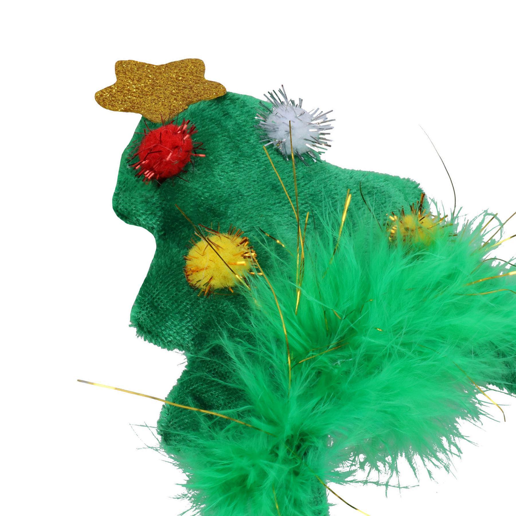 miniatuur 16 - 3PK Dog Humorous Novelty Christmas Headband - 2 SIZES/3 DESIGNS