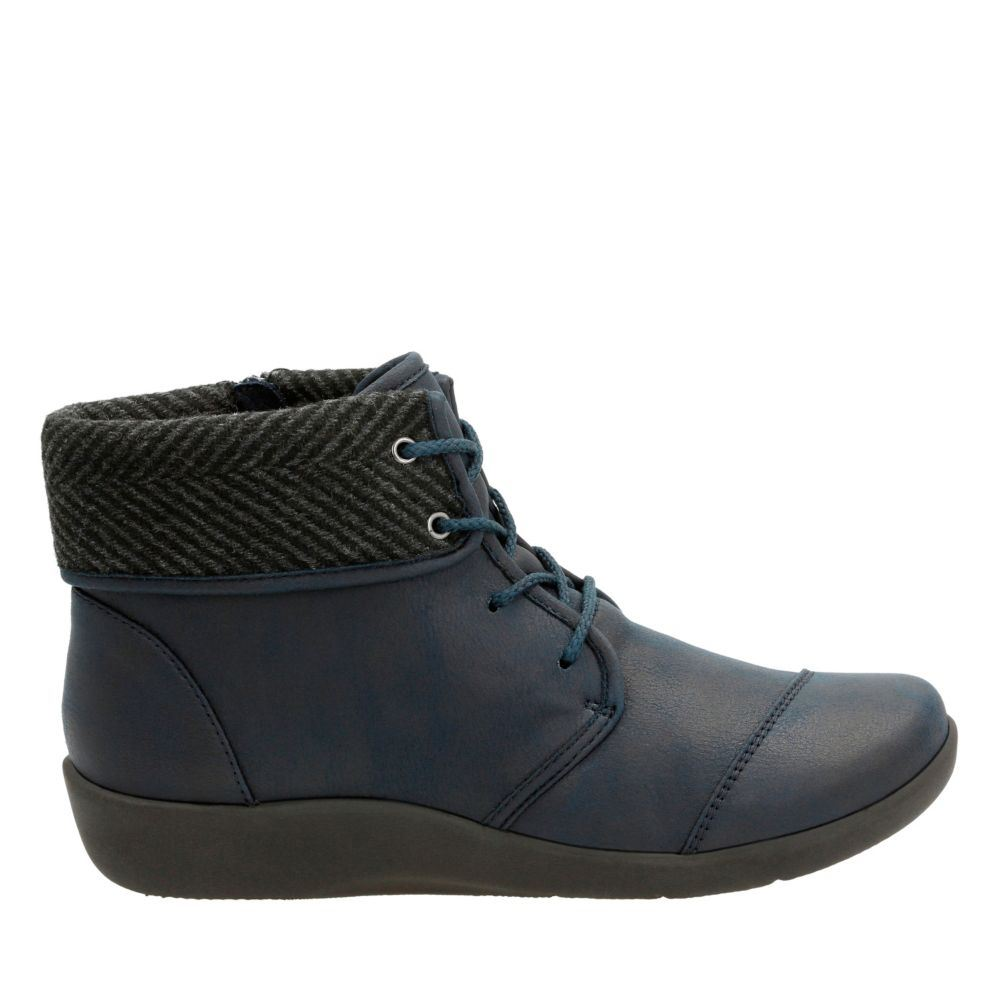 Clarks Sillian Frey Ankle Boot(Women's) -Grey Synthetic Nubuck Comfortable Free Shipping Get Authentic 100% Original Online Clearance Shop For uDpdp1tH4F