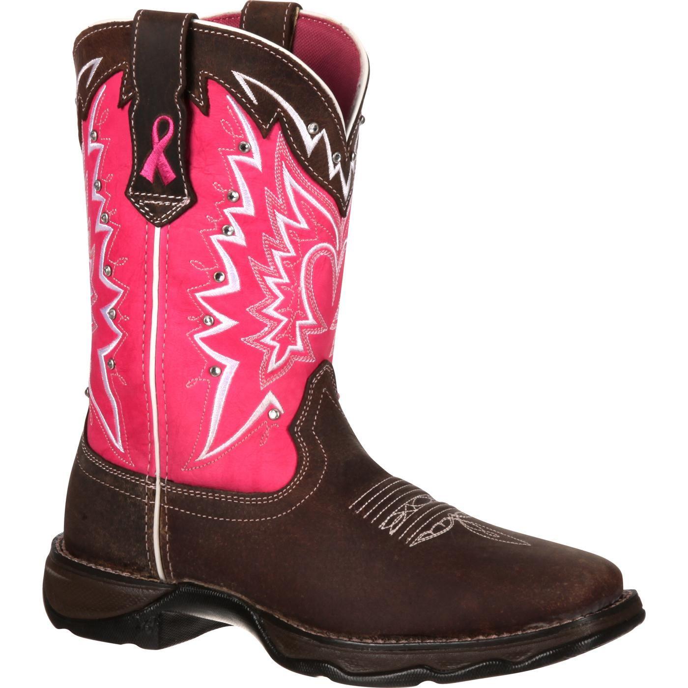 Durango Benefiting Stefanie Spielman Women's Western Boot
