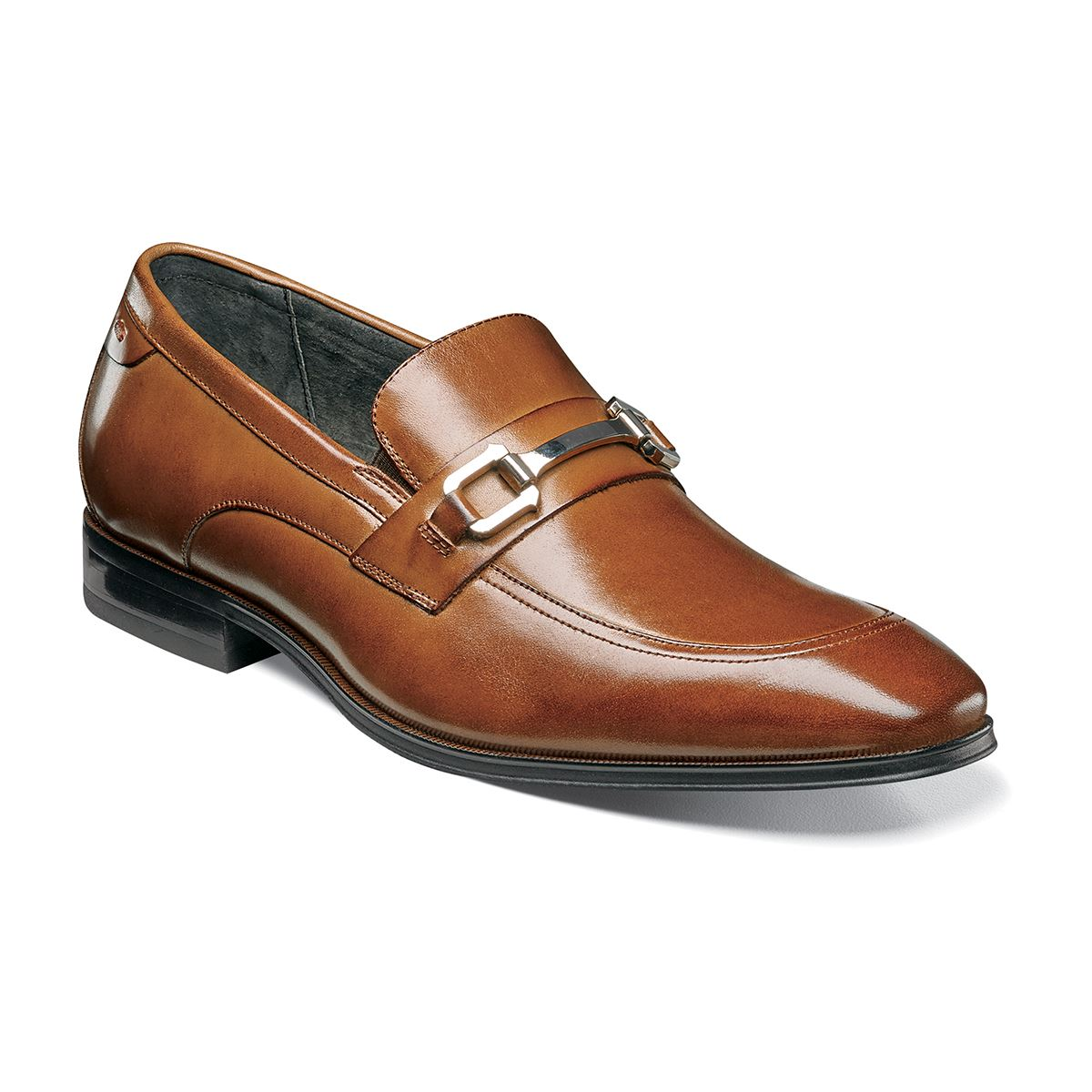 Best Selling Mens Stacy Adams Faraday Bit Loafer 24999 Cognac Leather Mens Cognac Leather Stacy Adams Mens Stacy Adams