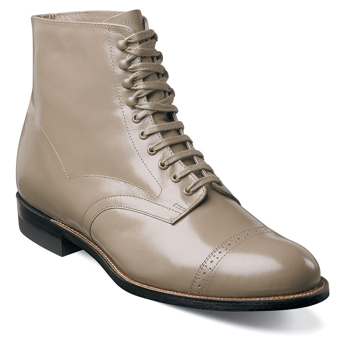 Stacy Adams Mens Madison Cap Toe Boots 00015
