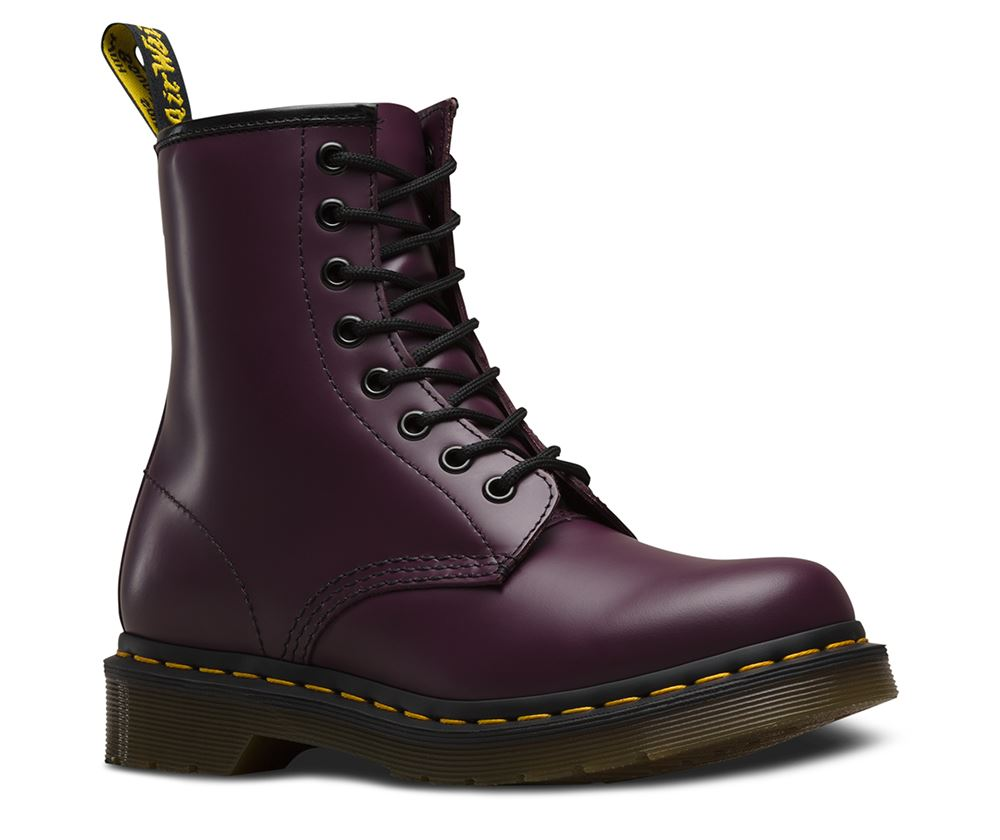 Dr. Martens Women'S 1460 Smooth 8 Eye Boot; Picture 2 of 2