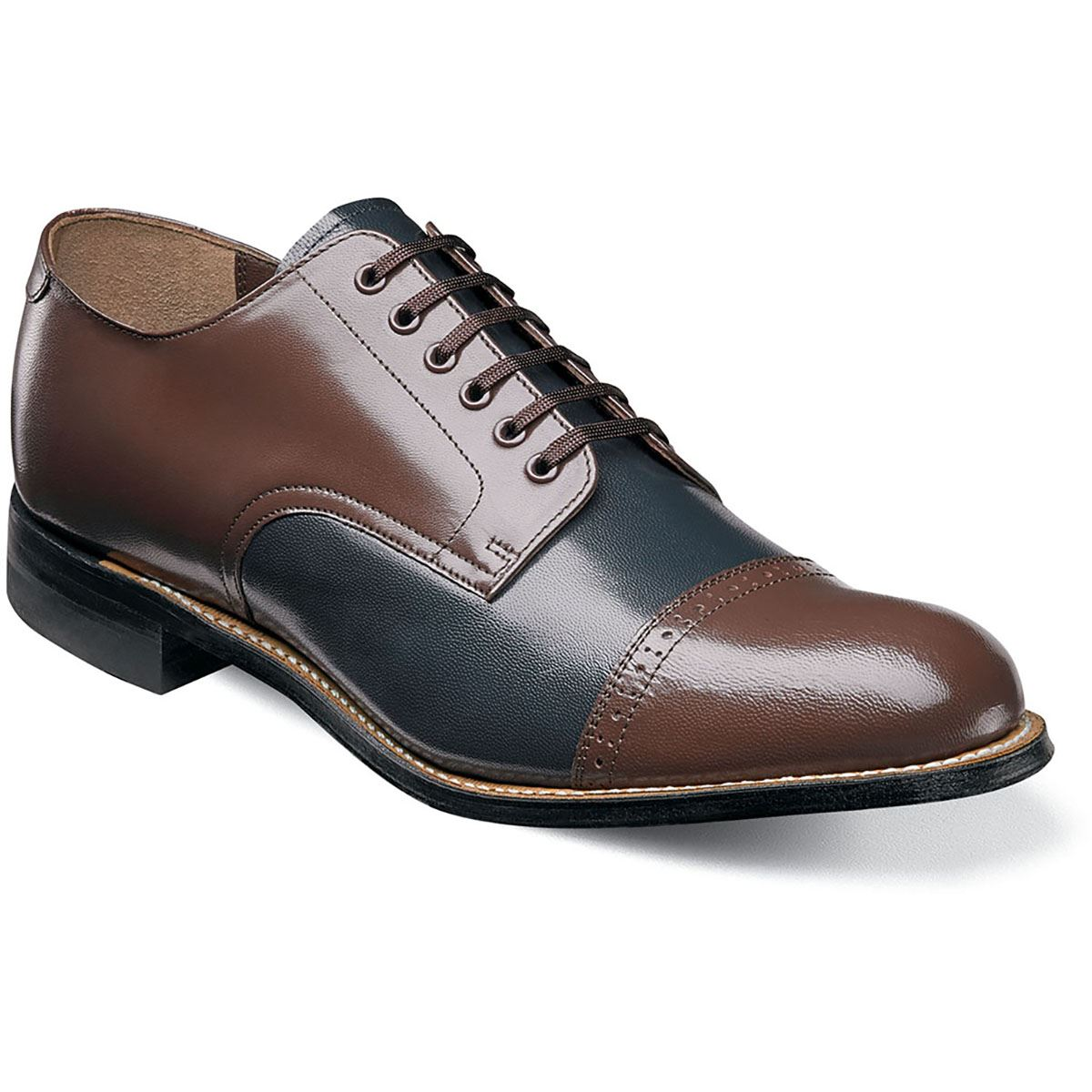 Stacy Adams Para Hombre Madison Cap Toe Oxford, Azul Azul Azul marino Multi (00012-492) c41eb5