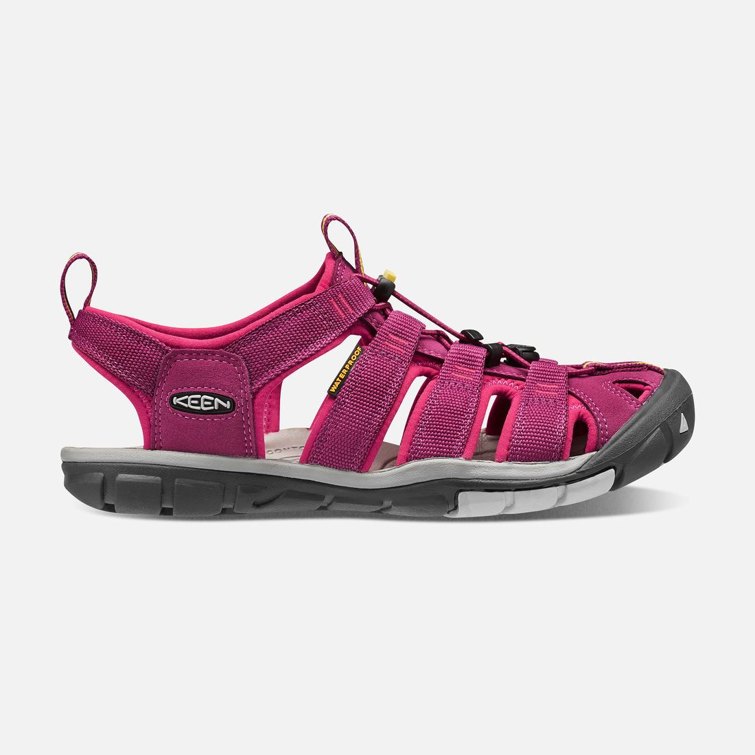 KEEN Women's Clearwater CNX Sandals Anemone/Acacia