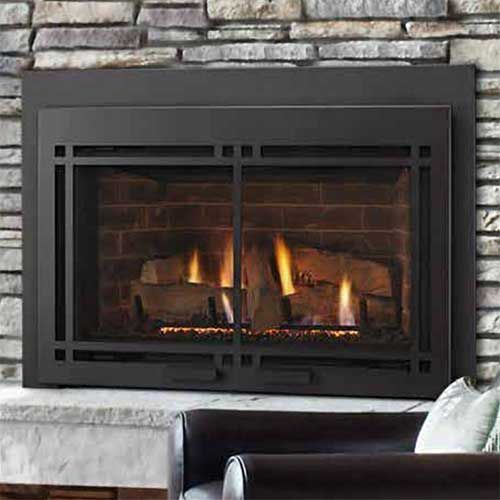 Majestic Mdvi35il Direct Vent Gas Fireplace Insert Package17 Lp