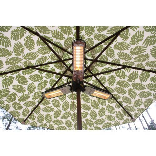 Parasol Electric Patio Heater By Az Patio Heaters 872313150778 Ebay