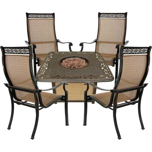 Fabulous Details About Monaco 5 Piece Fire Pit Chat Set With Propane Fire Pit Coffee Table Unemploymentrelief Wooden Chair Designs For Living Room Unemploymentrelieforg