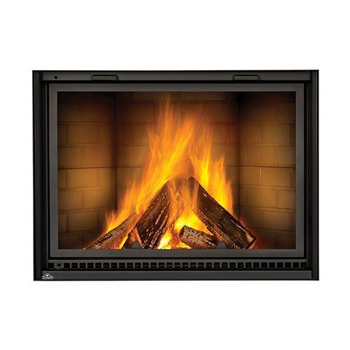 Nz8000 Linear Wood Burning Fireplace With Smooth Brick Kit Ebay