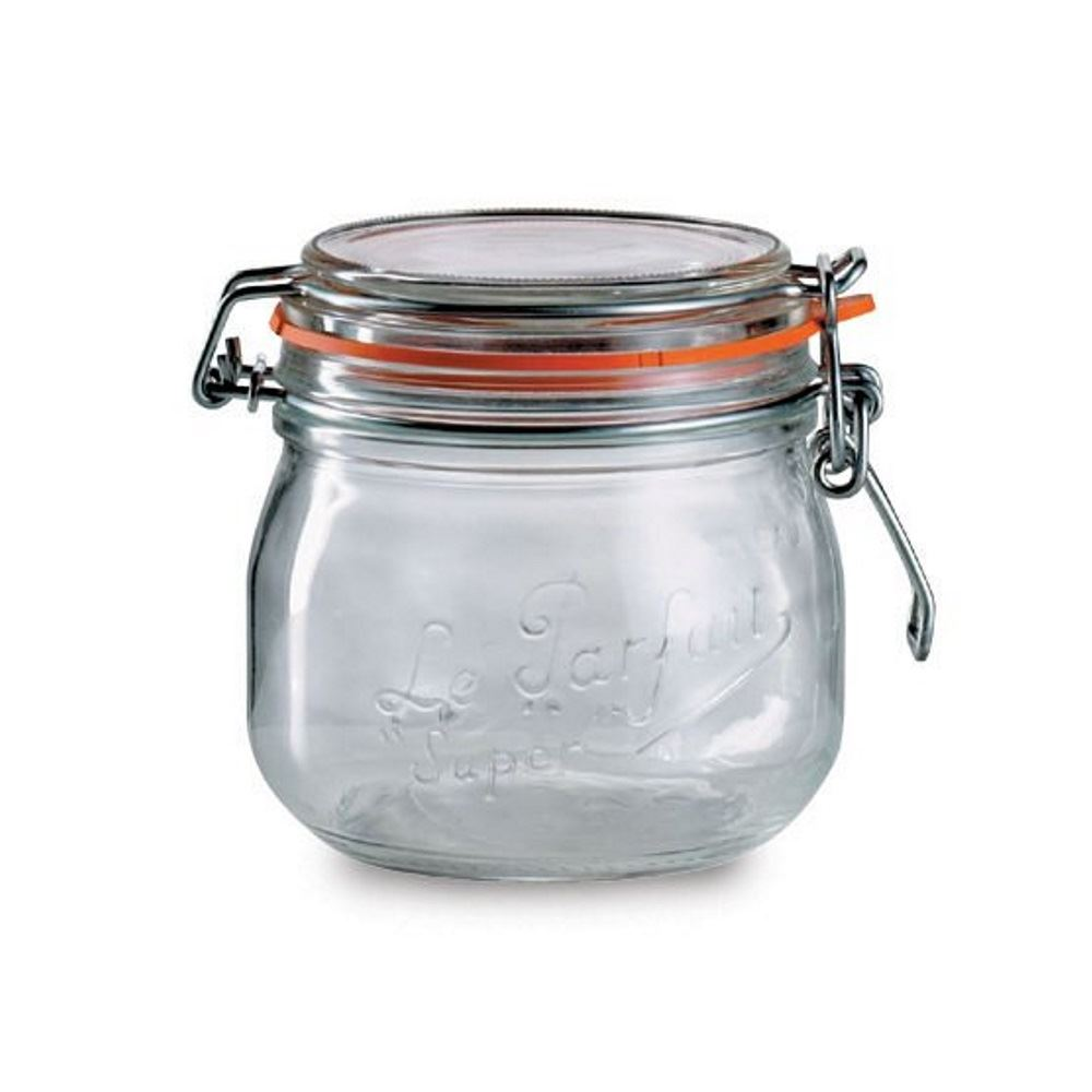 Le Parfait Sealed Glass Storage Preserving Jars In