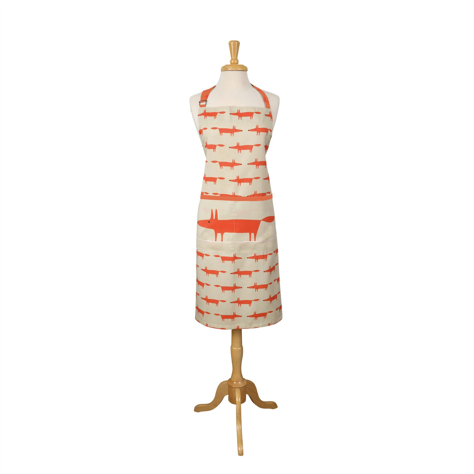 Fox or Spike Hedgehog 100/% Cotton Apron in Various Colours Scion Living Mr