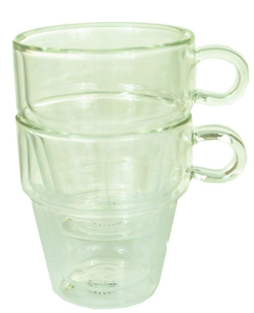 ca6b9e6f8e3 Judge Double Walled Glass Sets of 2 Coffee & Espresso Glass Glasses ...