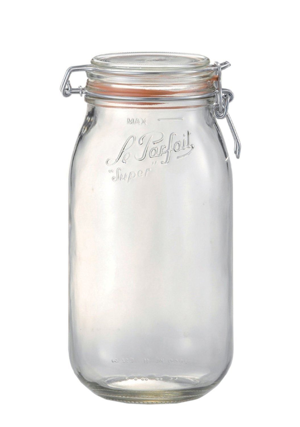 Le Parfait Sealed Glass Storage Preserving Jars In All
