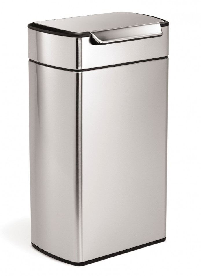 Simplehuman Bin Stainless Steel Pedal Touch Bar Waste