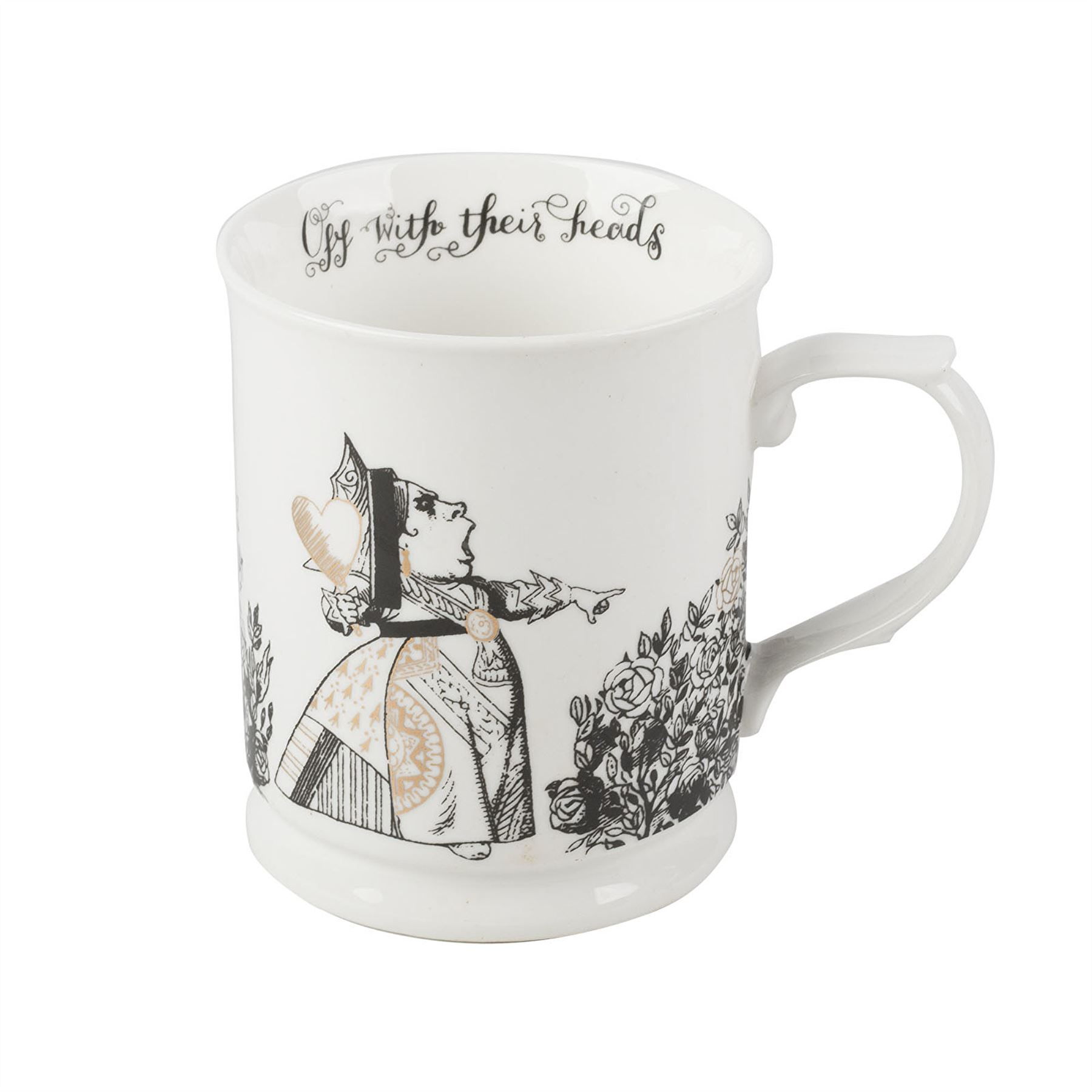 alice im wunderland krug tasse becher geschenk verpackt from the v a range ebay. Black Bedroom Furniture Sets. Home Design Ideas