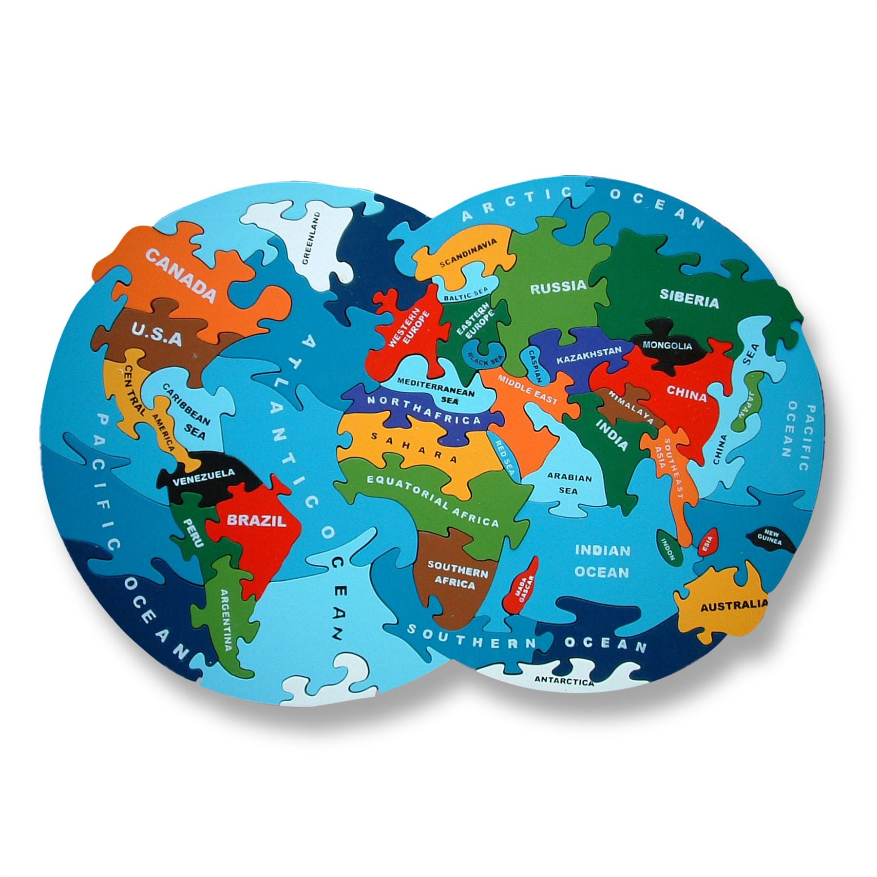 Wooden map of the world atlas jigsaw puzzle handmade in ireland ebay resntentobalflowflowcomponenttechnicalissues gumiabroncs Images