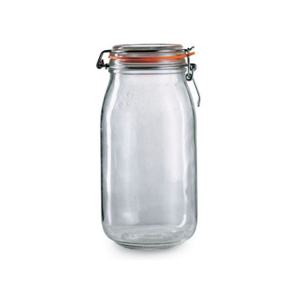Awesome Le Parfait Sealed Glass Storage Preserving Jars In