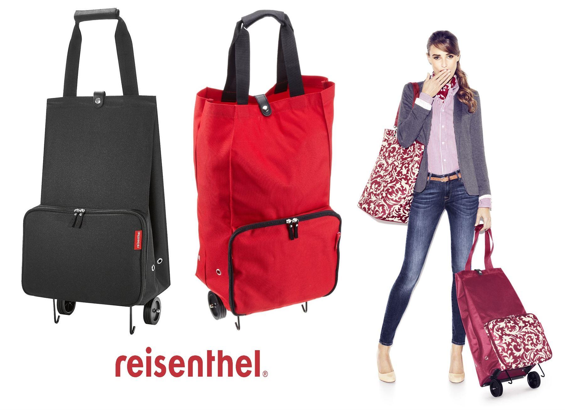 Reisenthel Foldable Trolley Shopping Bag In Various