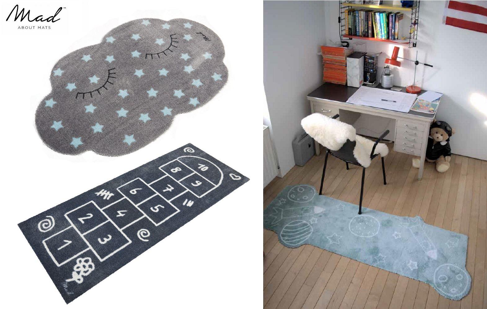 mad about mats children kids floor play mat rug in cloud. Black Bedroom Furniture Sets. Home Design Ideas