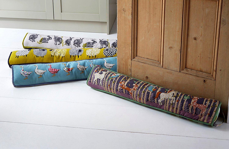 ulster weavers gewichtet stoff t r luftzug abdichtung st psel ende ebay. Black Bedroom Furniture Sets. Home Design Ideas