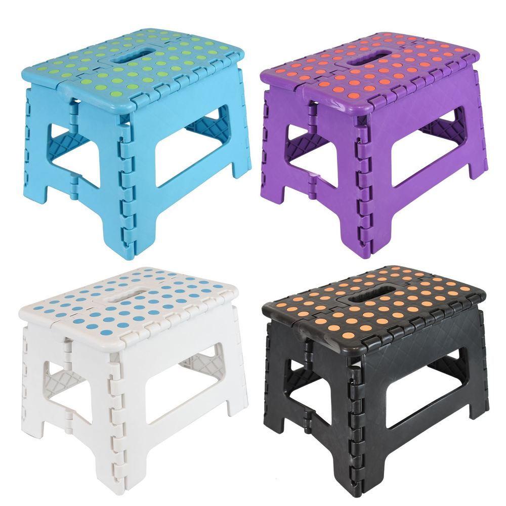 Strange Wham 20140 Small Flat Folding Step Stool 8Inch 20Cm High Colour May Vary Evergreenethics Interior Chair Design Evergreenethicsorg