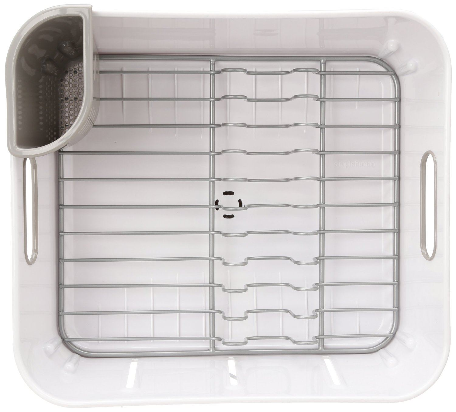 Simplehuman Compact Stainless Steel Dish Rack Sink Drainer