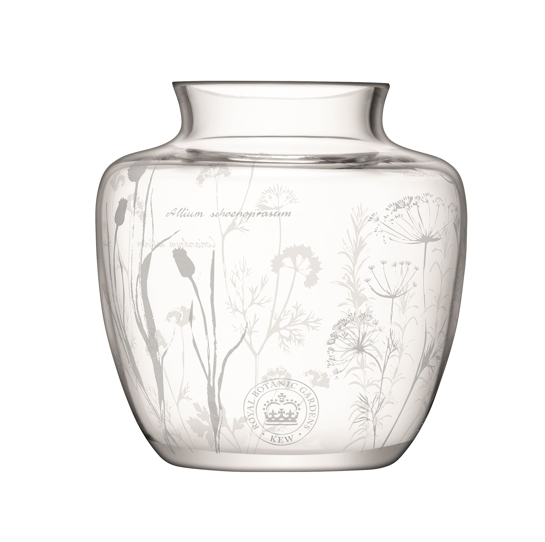 lsa kew g rten glas vase ge tzt kr uter blumen design 15cm or 12cm ebay. Black Bedroom Furniture Sets. Home Design Ideas