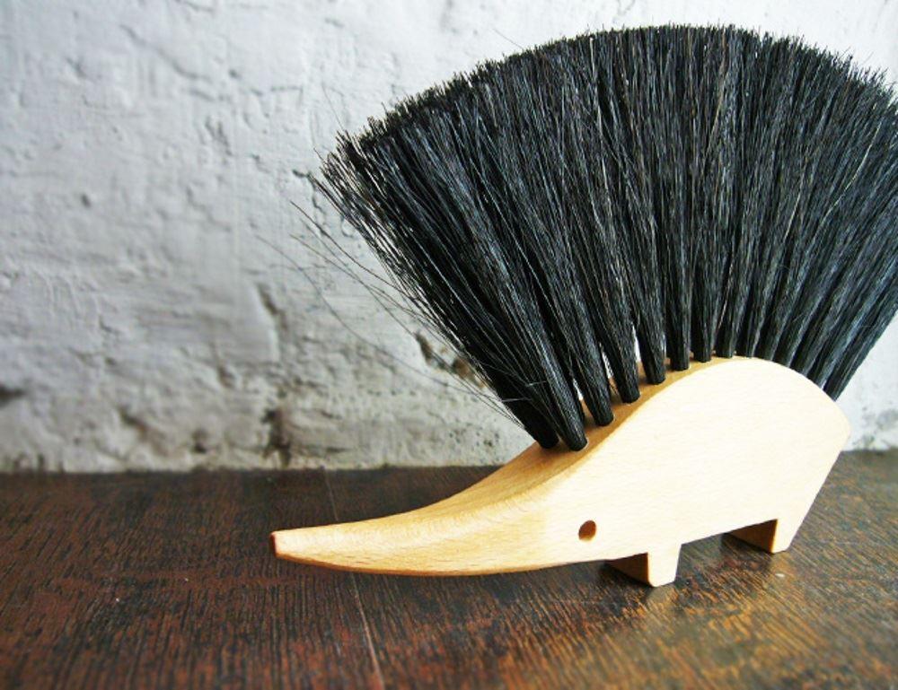 Redecker Wooden Wood Sweeping Dustpan Amp Brush Set