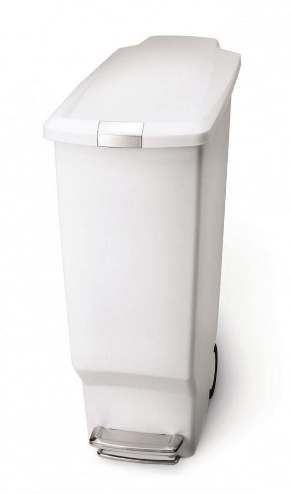 Simplehuman Plastic Slim 10L or 40L Pedal Waste Bin on