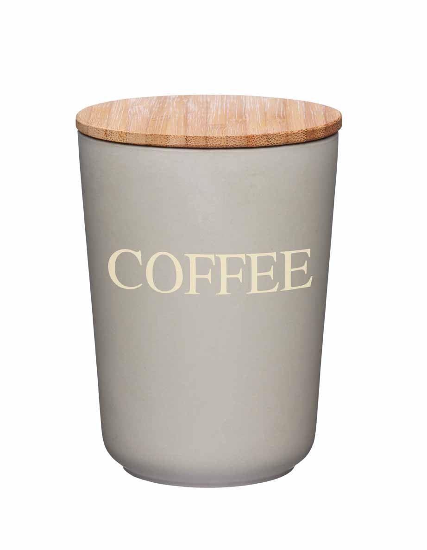 kitchencraft natural elements bamboo storage jar container. Black Bedroom Furniture Sets. Home Design Ideas