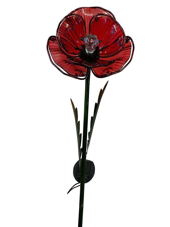 Smart-Garden-Solar-Light-LED-Garden-Flower-Rose-Poppy-Fushcia-Snowdrop-Daffodil