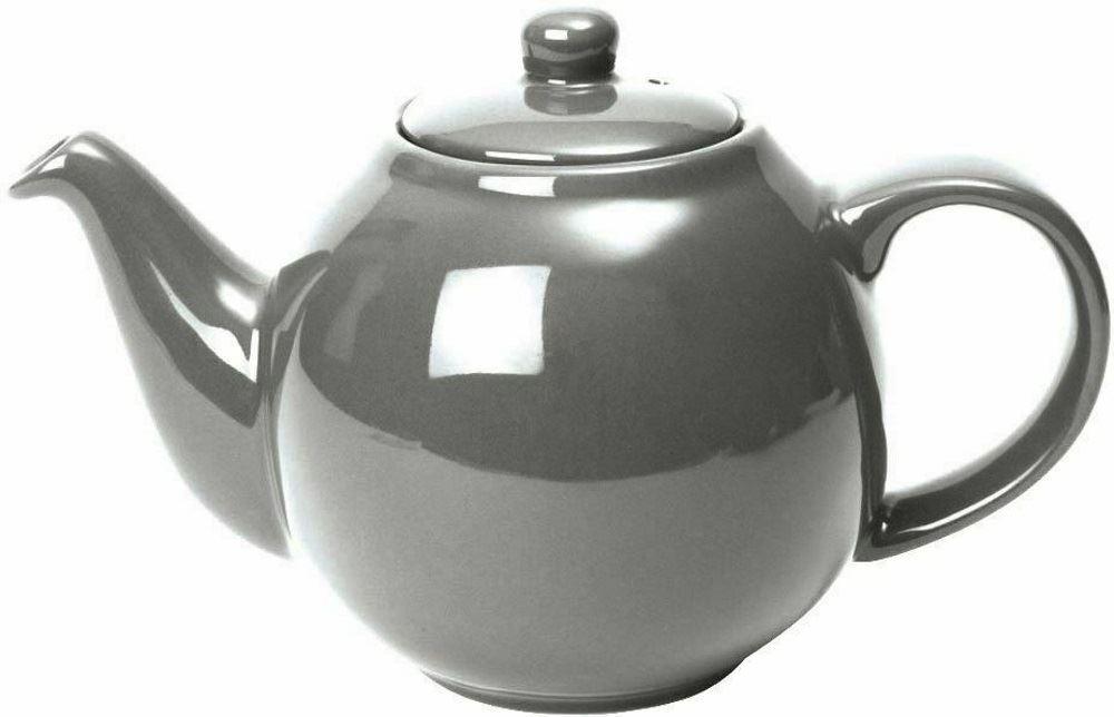 london pottery globe 2 tasses argent th i re avec filtre. Black Bedroom Furniture Sets. Home Design Ideas