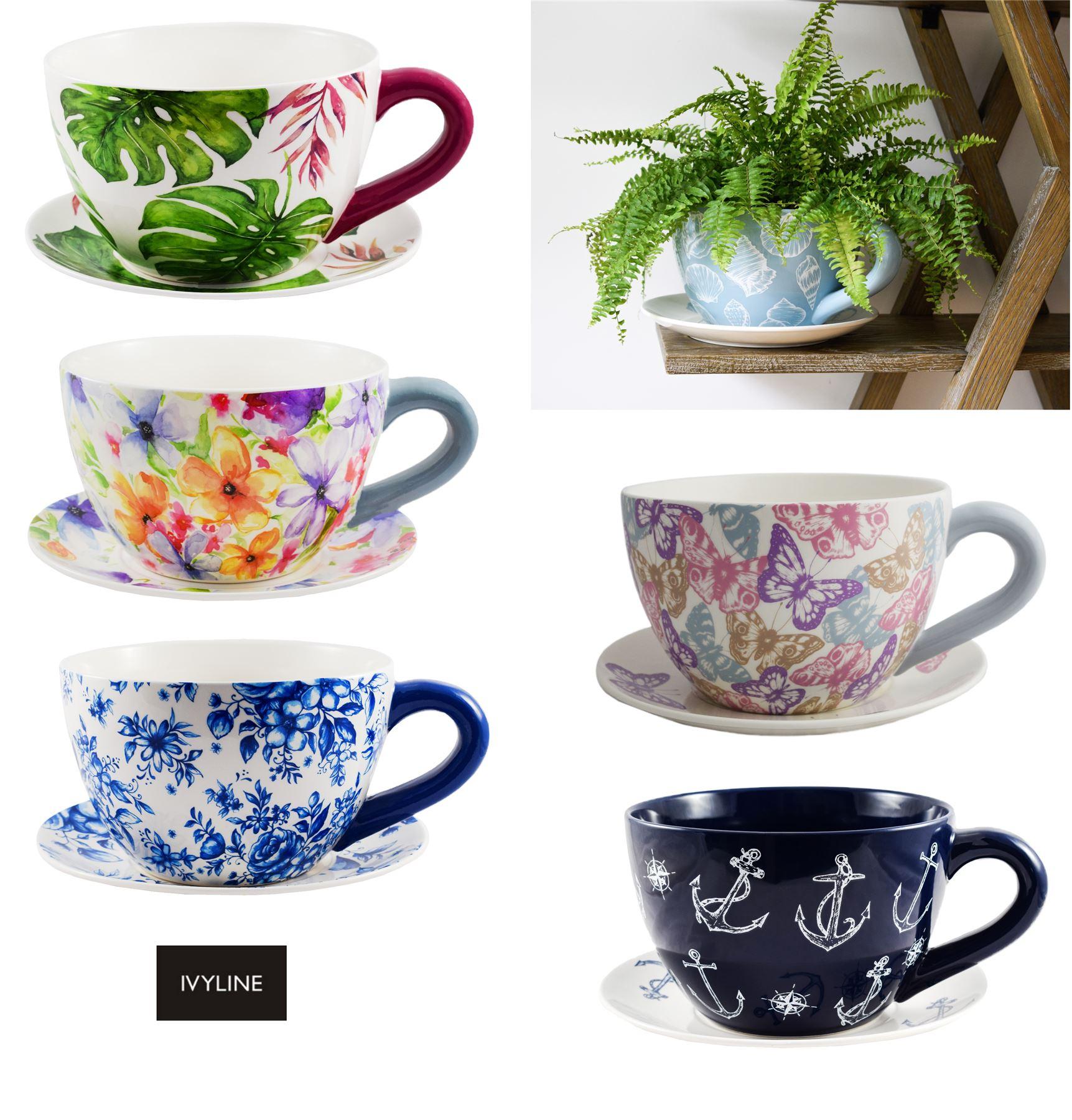 100 Incroyable Idées Tasse Pot De Fleur