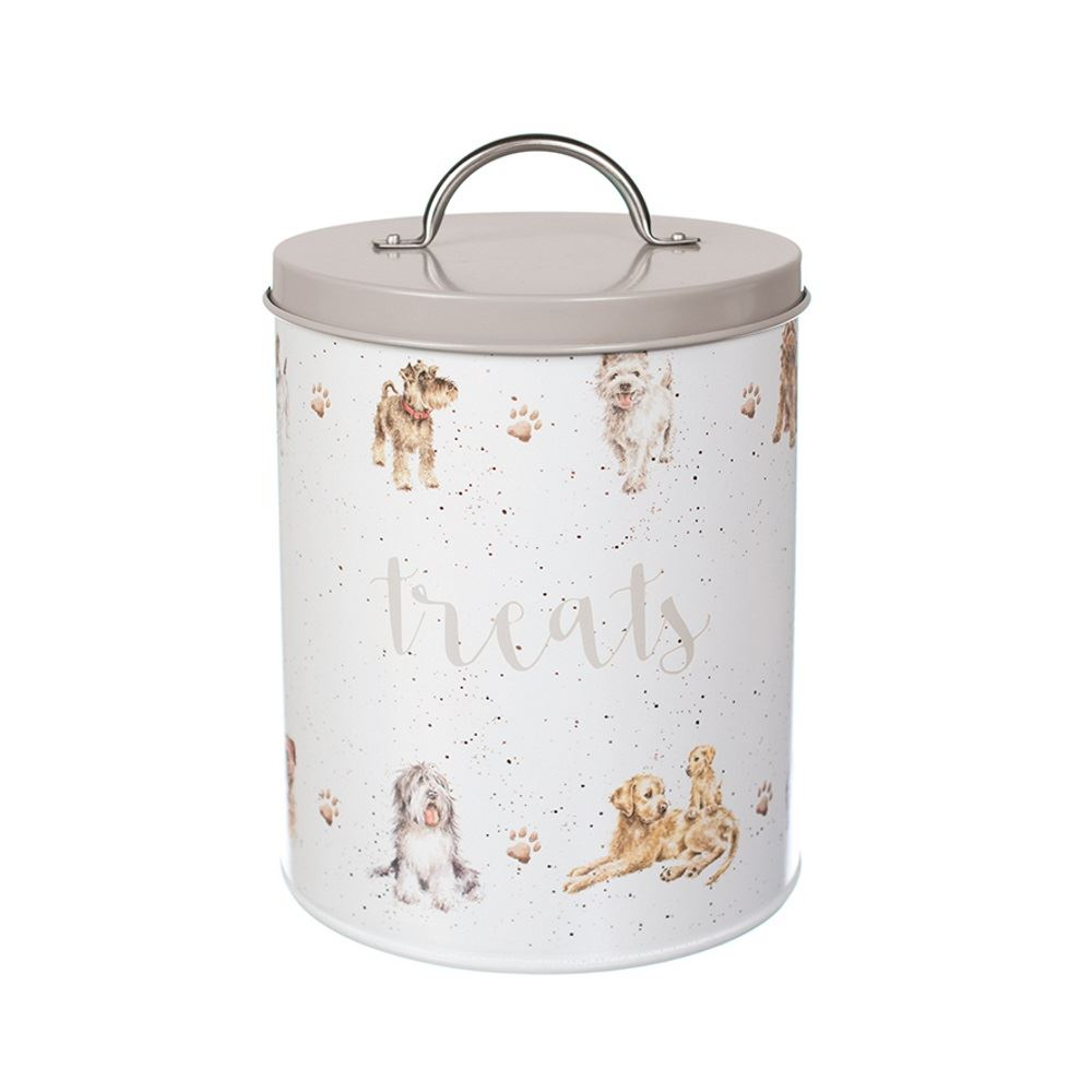 Wrendale-Cat-or-Dog-Food-Pet-Treat-Storage-  sc 1 st  eBay & Wrendale Cat or Dog Food Pet Treat Storage Tin Box Container Cute | eBay