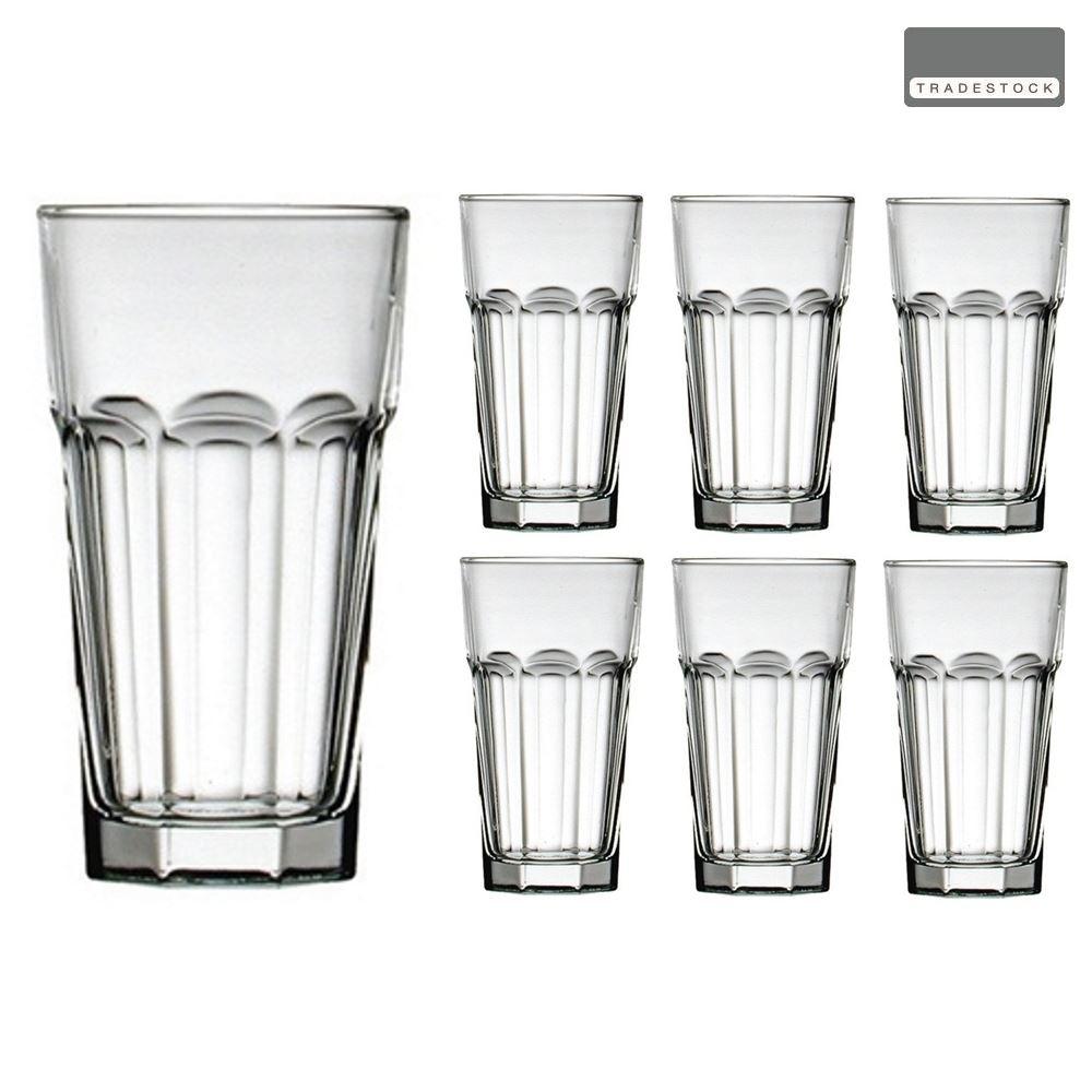 4 ou 6 TRADESTOCK Surdimensionné verre Hiball Gobelets 55 cl boisson VERRES-Set de 2